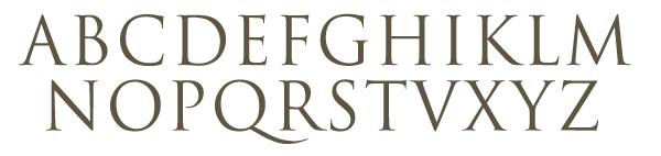 Letter Guide Alphabet Font