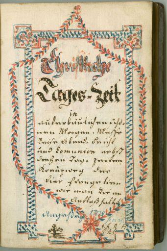 Manuscrito tipo letra gótica Fraktur
