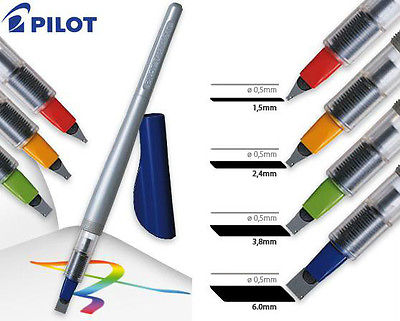 Pilot parallel pen distintos grosores