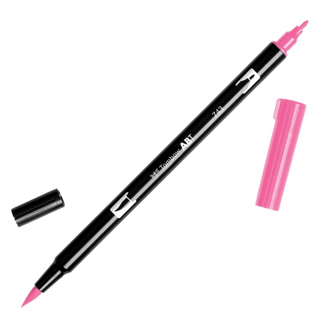Tombow dual brush, rotulador punta pincel para caligrafía
