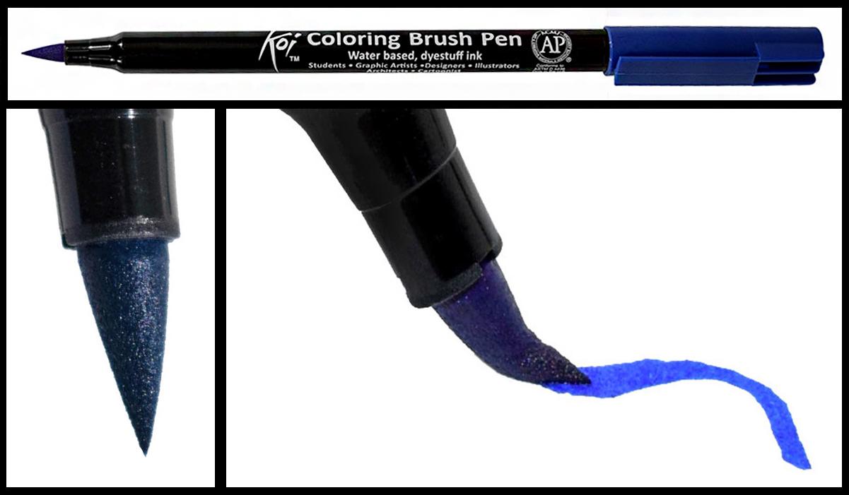 Ejemplo trazo Sakura Koi Coloring Pen Nrush 2