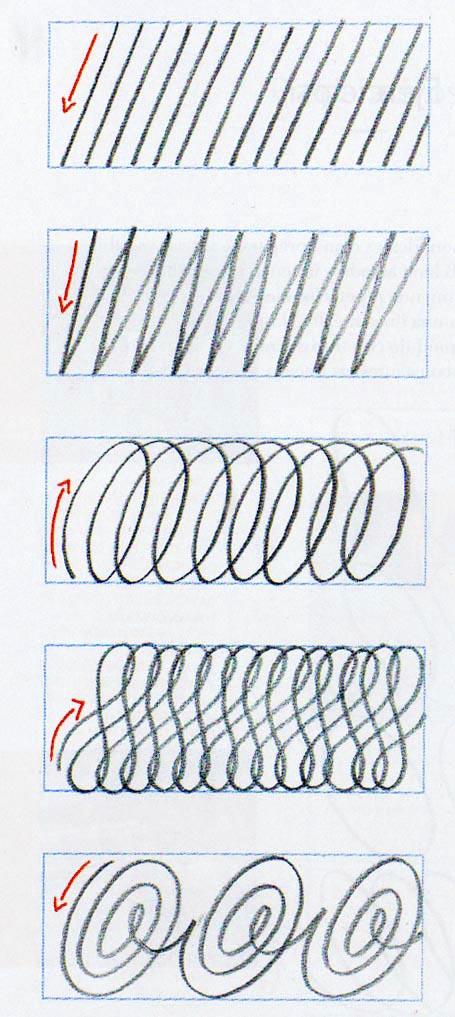 Ejercicios mejorar caligrafía sencillos y fáciles 2