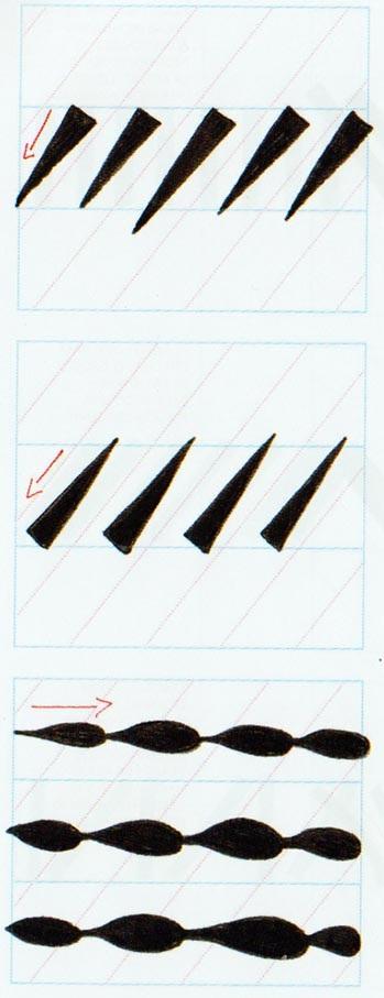 Ejercicios caligrafía brushscript 3