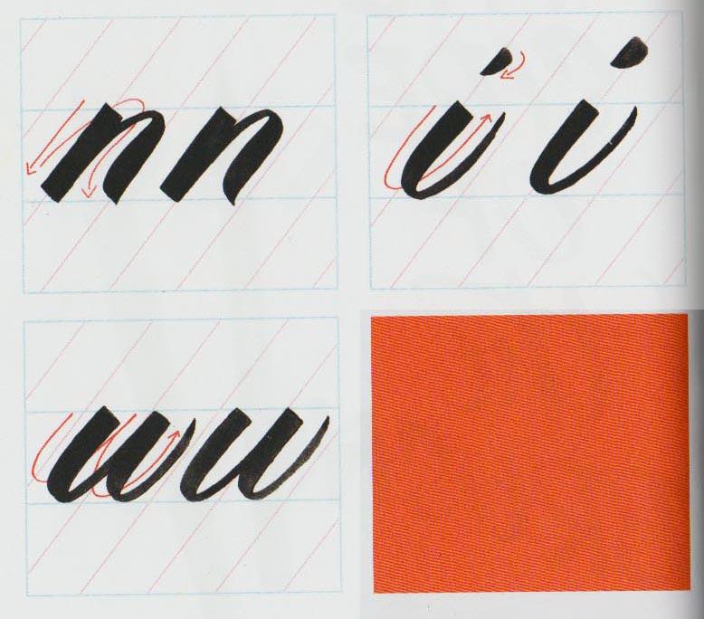 Alfabeto Brush Script 1