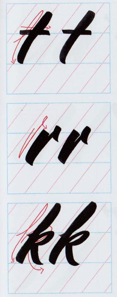 Alfabeto Brush Script 3