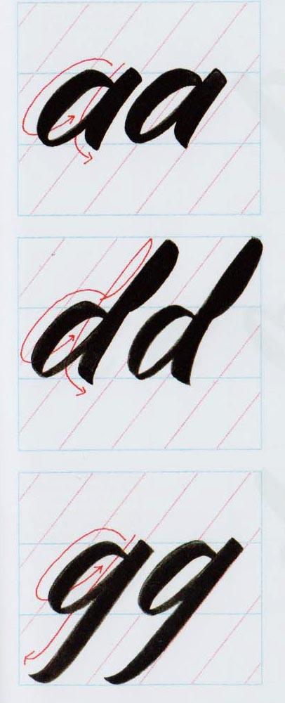 Alfabeto Brush Script 5