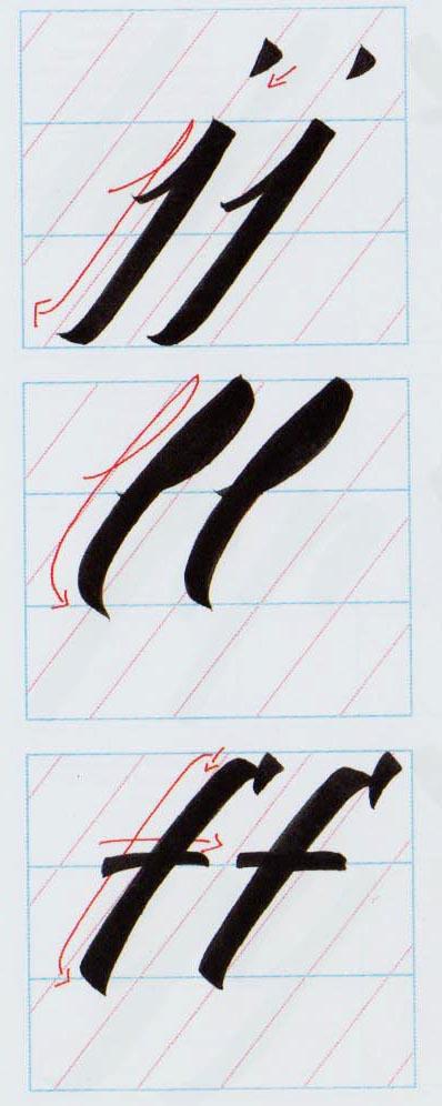 Alfabeto Brush Script 4