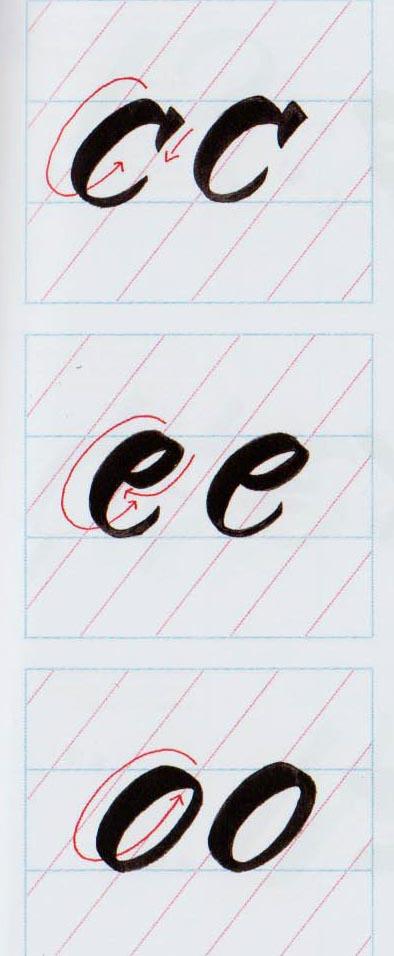Alfabeto Brush Script 7