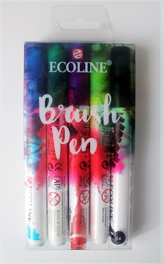 Comprar rotuladores Brush Pen Ecoline