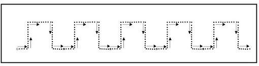 Ejercicios preescritura cuadrados
