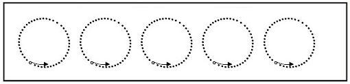 Ejercicios preescritura círculos