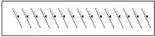 Ejercicios preescritura diagonales
