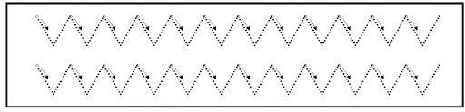 Ejercicios preescritura zigzag