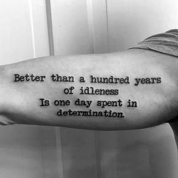 letras para tatuajes máquina de escribir