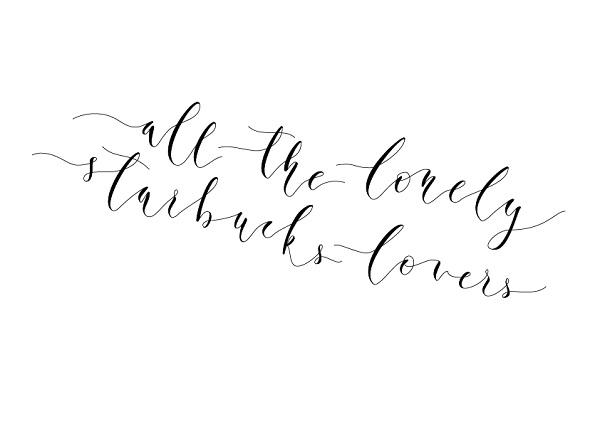 Ejemplo frase caligrafía moderna