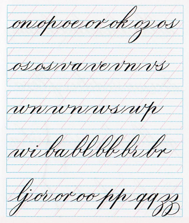 Ligaduras Copperplate 2