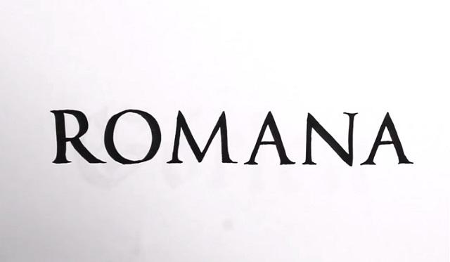 Caligrafía romana