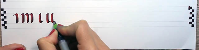 Trazos puente Parallel Pen