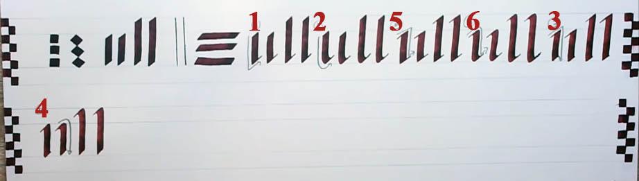 Trazos rectos Parallel Pen