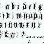 Curso de Caligrafía – Lección 8: Caligrafía Gótica Textura Quadrata