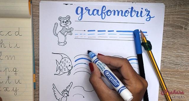 Ejercicios grafomotricidad para niños, grosor rotulador
