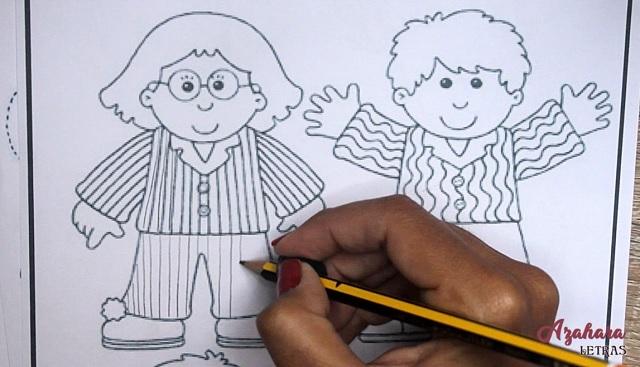 Ejercicios grafomotricidad para niñoslíneas rectas