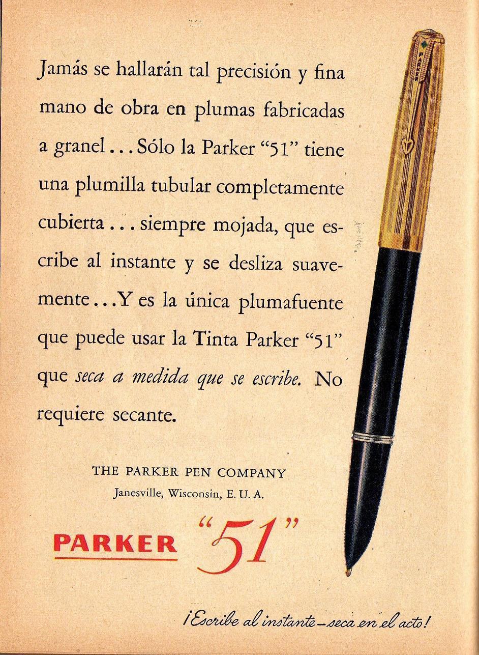 Tinta 51 Parker