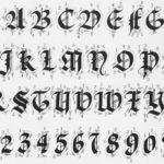 Curso de Caligrafía – Lección 9: Caligrafía Gótica Mayúscula Quadrata