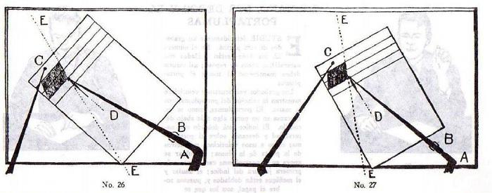 Método Palmer de caligrafía lección 3 posición folio