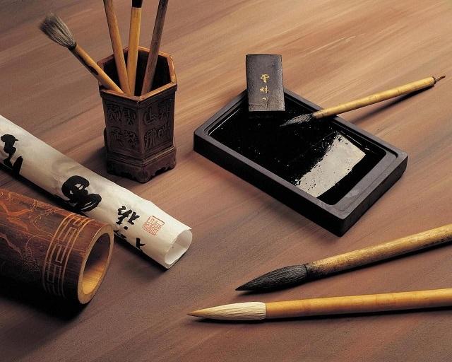 Herramientas caligrafía japonesa