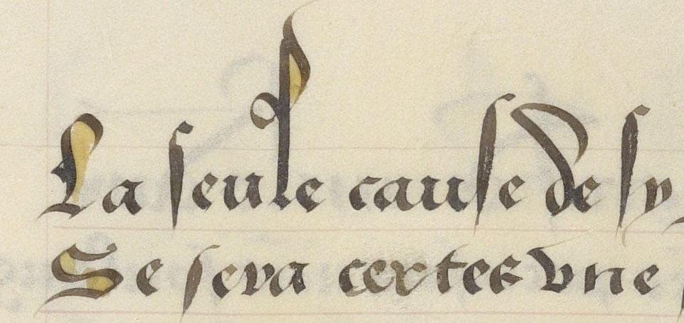 """Ms. Codex 909, """"Le livre des Eneydes"""